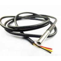 Датчик температуры<br /> Термодатчик в металлическом корпусе с кабелем 5м
