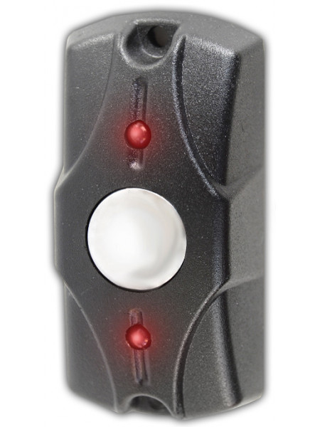 Кнопка выхода<br /> Циклоп (чёрный)