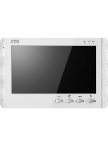 Монитор видеодомофона<br /> CTV-M1704MD (белый)