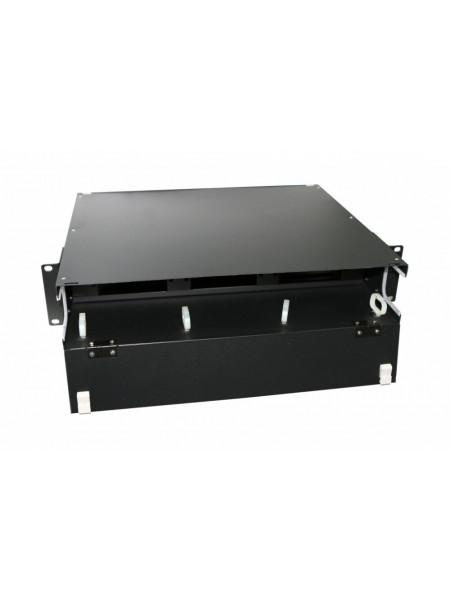 Патч-панель<br /> FO-19BX-2U-F0-6xSLT-W120H32-EMP