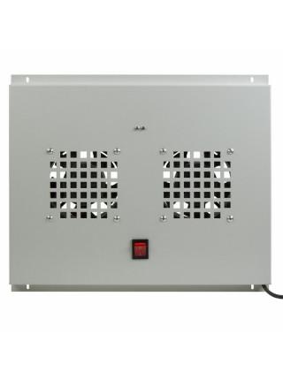 Модуль вентиляторный<br /> Модуль вентиляторный потолочный с 2-мя вентиляторами, без термостата, для шкафов серии Standart с глубиной 600мм 04-2600