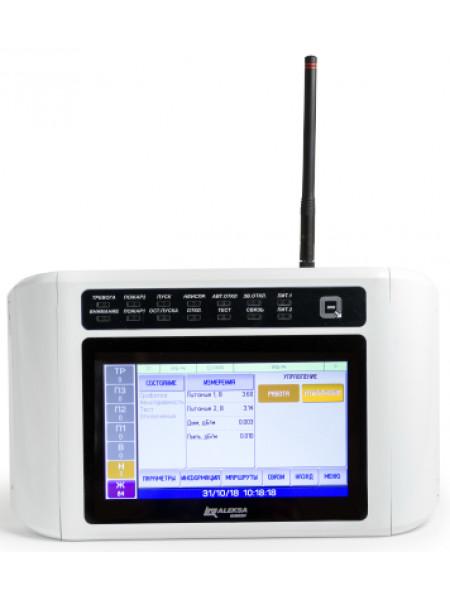 Прибор приемно-контрольный охранно-пожарный радиоканальный<br /> ППКОПУ
