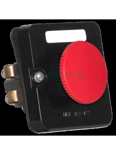 Пост управления кнопочный<br /> ПКЕ 212-1У3 Красный Гриб