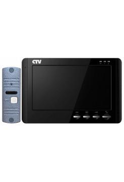 Комплект видеодомофона<br /> CTV-DP1704MD (черный)