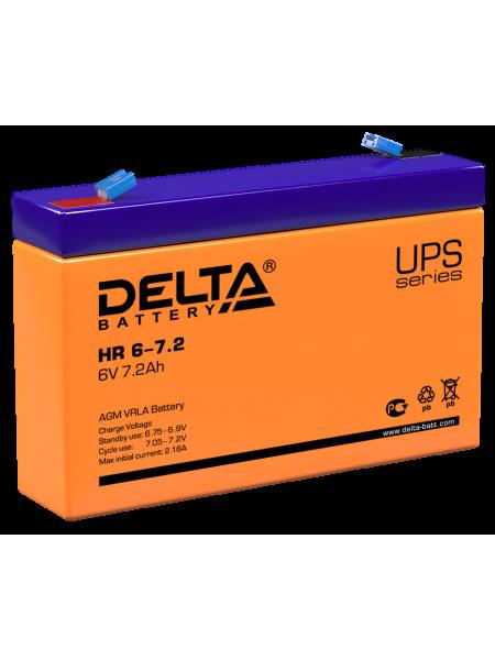 Аккумуляторная батарея<br /> Аккумулятор 6В 7,2 А∙ч (HR6-7.2)